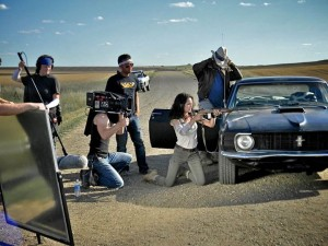 The Crew Shoots the Shooting